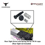 CowCow Rear Sight Screw and Spring Set for TM Hi-capa