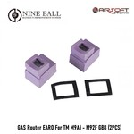 Nine Ball GAS Router EARO For TM M9A1 - M92F GBB (2PCS)