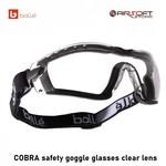 Bollé COBRA safety goggle glasses clear lens