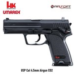 Heckler & Koch USP Cal 4.5mm Airgun Metal BB CO2