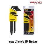 Inbus Sleutelset (L-Sleutel) USA Standard