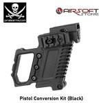 PIRATE ARMS Pistol Conversion Kit (Black)