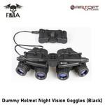 FMA Dummy Helmet Night Vision Goggles (Black)