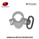Element Ambidextrous QD Swivel Slot (Dark Earth)