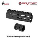 Ares 145mm M-LOK Handguard Set (Black)