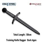 Cold Steel Training Knife Dagger Dark Ages
