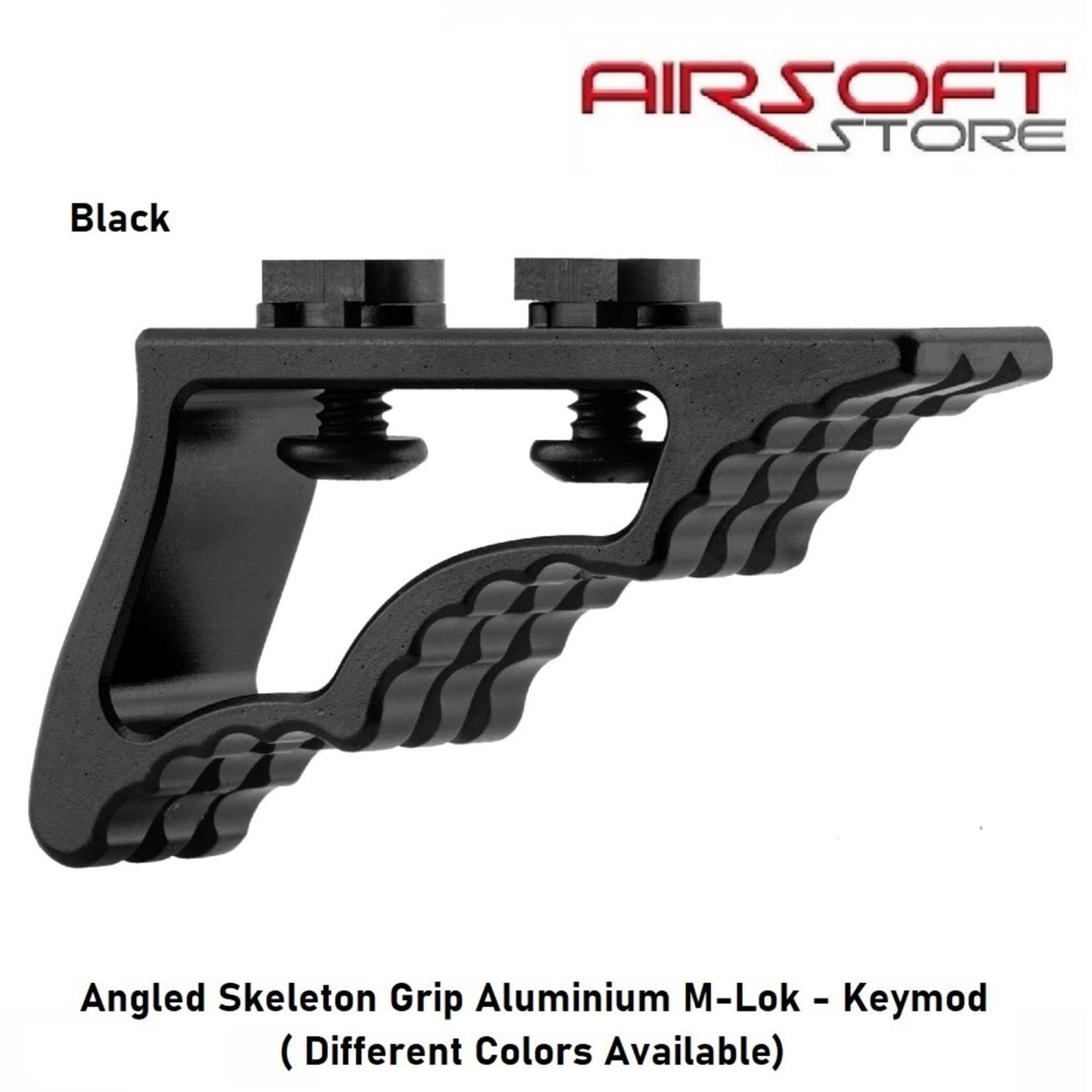 Angled Skeleton Grip Aluminium M-Lok - Keymod