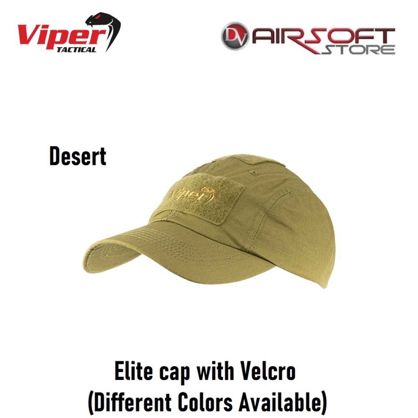 VIPER Elite cap with Velcro