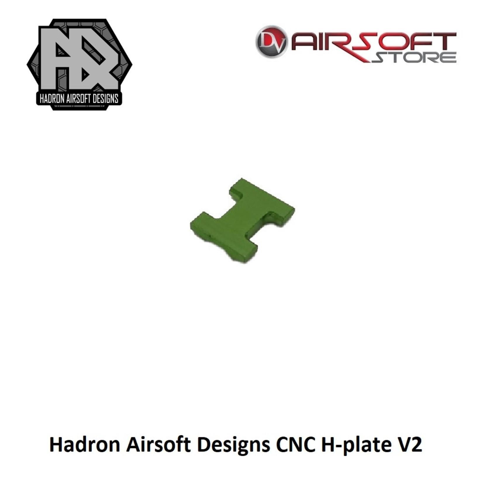 Hadron Airsoft Designs CNC H-plate V2
