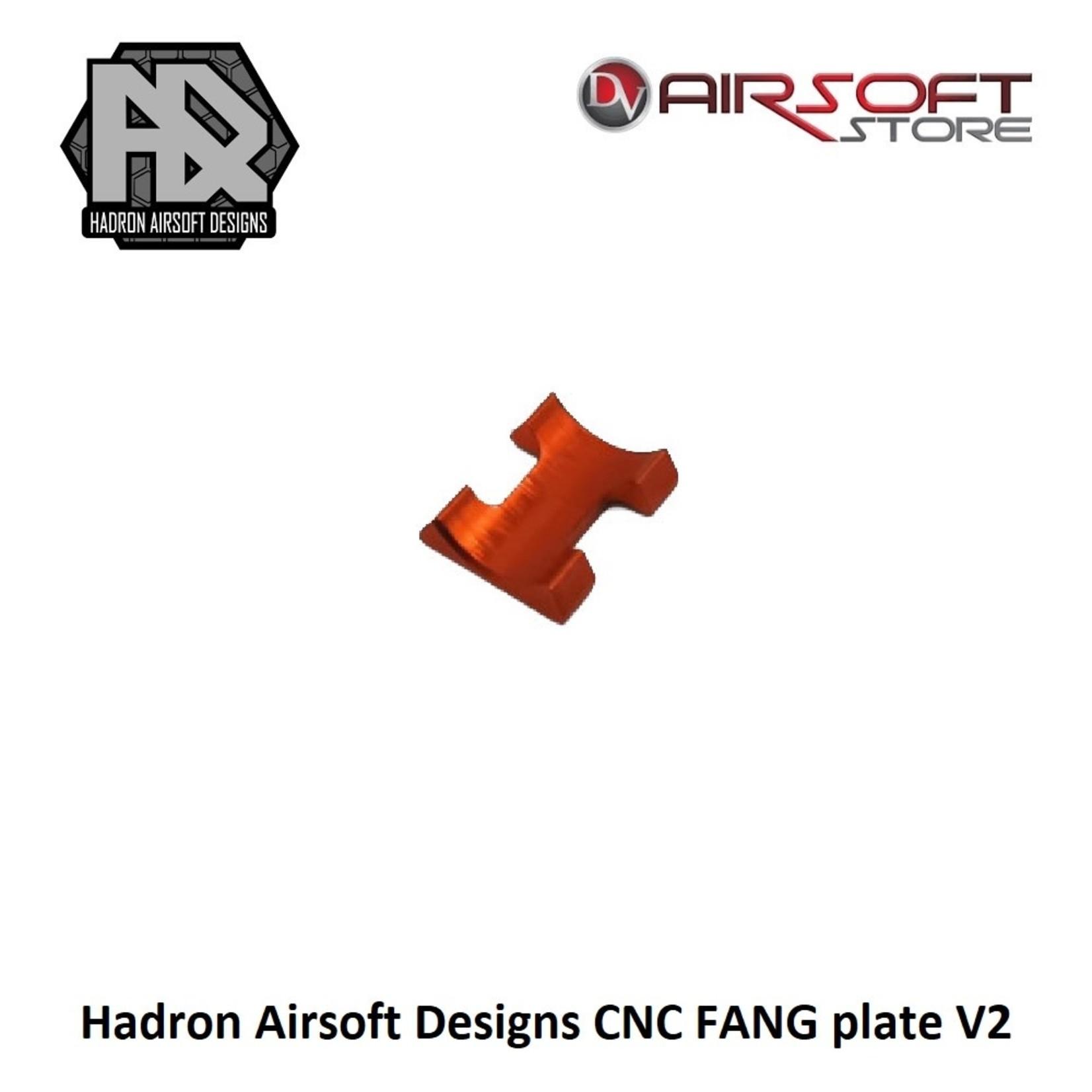 Hadron Airsoft Designs CNC FANG plate V2