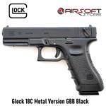 Glock 18C Metal Version GBB Black