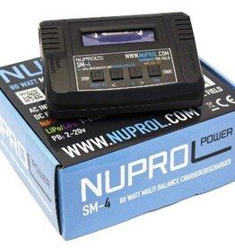 WE Europe Batterijlader SM4 80W LI-FE, LI-PO, NIMH, NICD