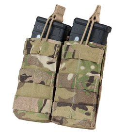 CONDOR Double Open-Top M4 Mag Pouch - MC