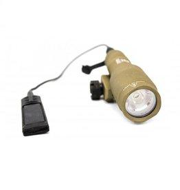 WE Europe Flashlight for pistol/rifle w/mount NX600S - TAN