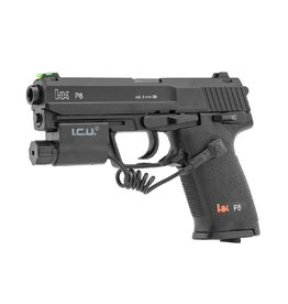 Heckler & Koch P8 CO2 pistol + ICU Camera Ultra VGA