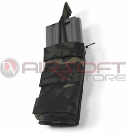 EMERSON Single Open Top Magazine Pouch - MC Black