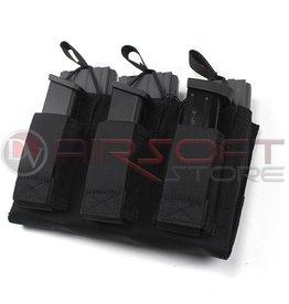 EMERSON Triple Open Top rifle & pistol Mag500D - BK