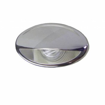 ITC LED Licht Courtesy, RVS, blauw