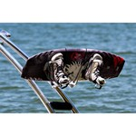 Monster Tower Quick Release Wakeboard Rack Brushed and Anodized - 2.5""