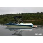 Monster Tower MTK XL Stealth Forward Wakeboard Tower w/Nav Light -Matte Black