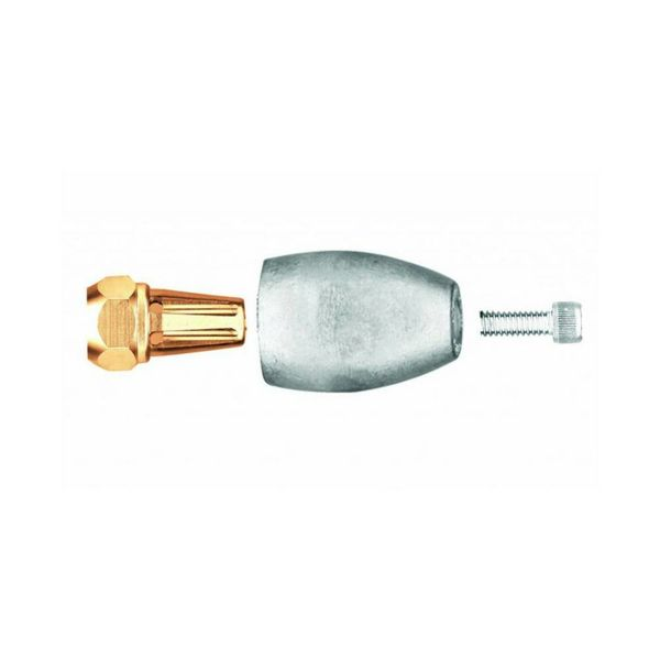 Martyr Anodes MERCURY  BRAVO 3  Anode Aluminium (2004 TO PRESENT) PROP NUT ONLY