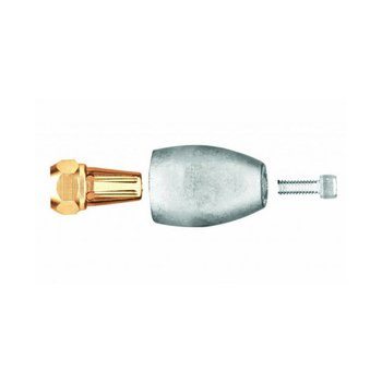 Martyr Anodes MERCURY  Anode Aluminium  BRAVO 3 (2003 AND OLDER) PROP NUT ASSBLY