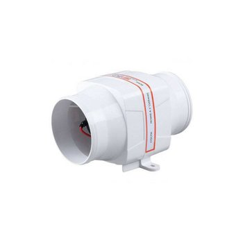 Sea Flo In-line Blower - 130 CFM 12v.