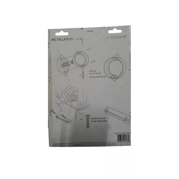 Martyr Anodes Volvo Penta Anode Kit 280-DP, Magnesium