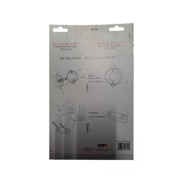 Martyr Anodes Volvo Penta Anode Kit 290, Magnesium
