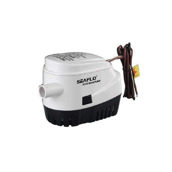 Sea Flo Lenspomp 600 GPH, 12v, Automatisch (2271 ltr/uur)