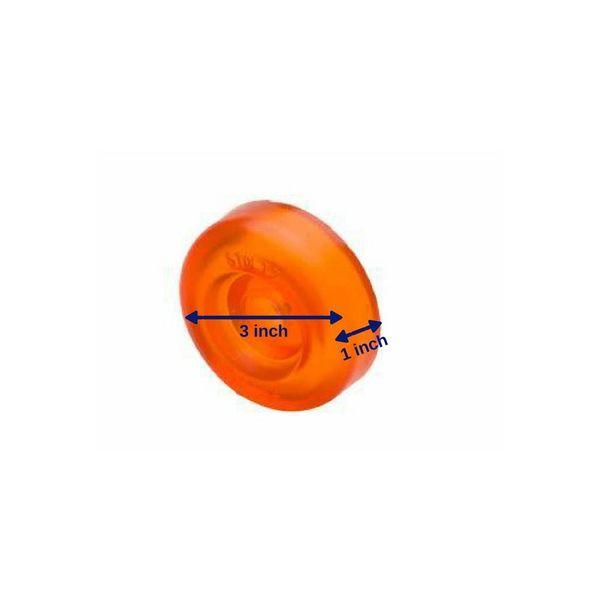 Stoltz Rollers Kielrol eindstuk -  Ø 7,6 cm.