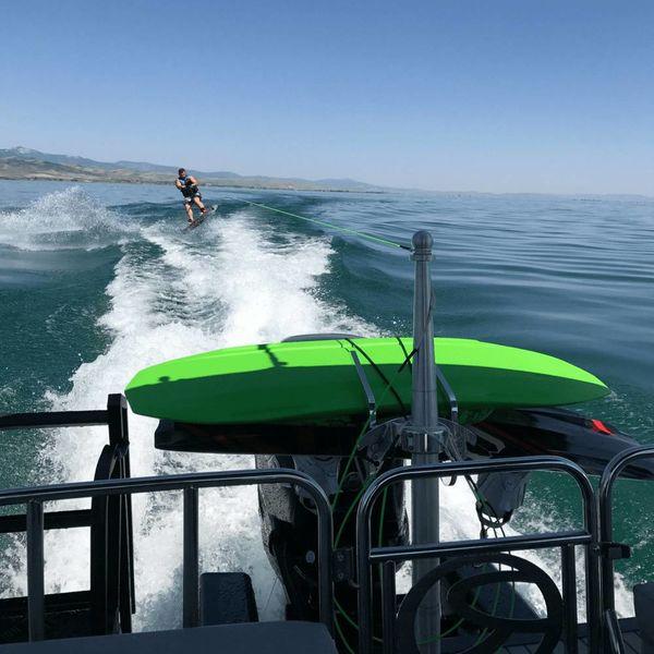 "Monster Tower Quick Release Wakeboard/Surfboard Combo Rack 2.5"""