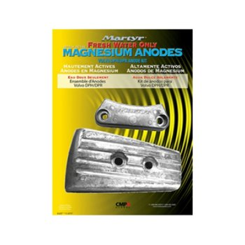 Martyr Anodes Volvo Penta Anode Kit DPH, Magnesium