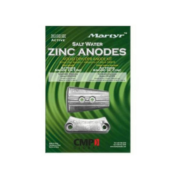 Martyr Anodes Volvo Penta Anode Kit DPH, Zink