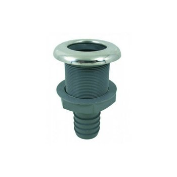 Marinetech PVC Huiddoorvoer - RVS flens - 19 mm