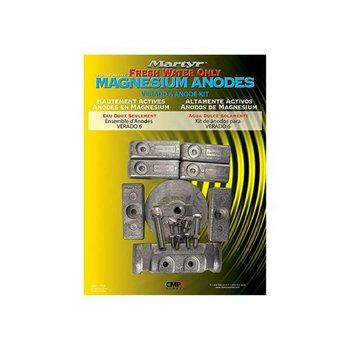 Martyr Anodes Mercury kit cm-verado6kit Magnesium