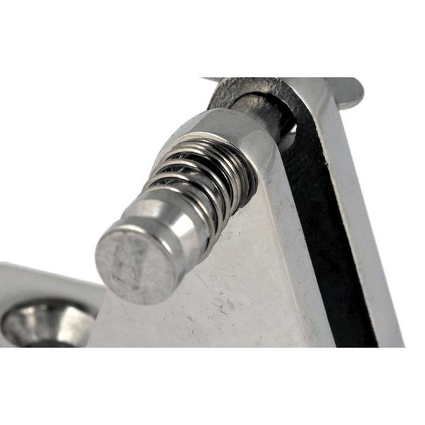 RVS Montagevoet met gaffelpen