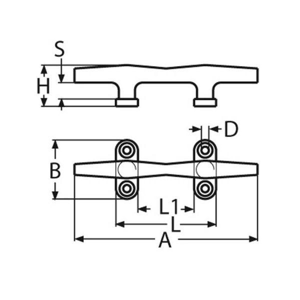 Kikker - RVS - 150 mm.