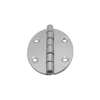 Ovale Scharnier - gegoten - RVS 316 - 67*48*2 mm