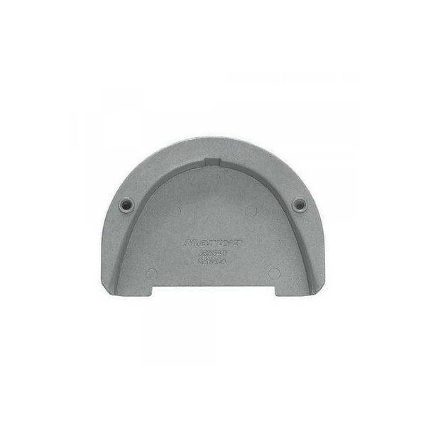 Martyr Anodes Volvo Penta Anode CM-3855411 (Transom Plate for SX drive) - Aluminium
