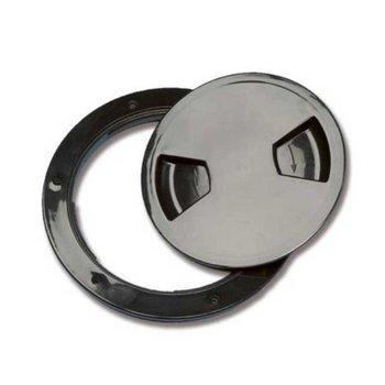 Inspection plug 205 mm - Zwart