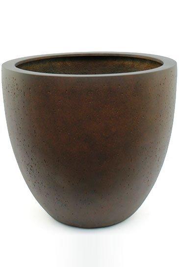 D-Lite Egg Pot L Roest-Beton Kleur