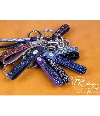 Schumacher Key Hanger, sm.topaz, gold
