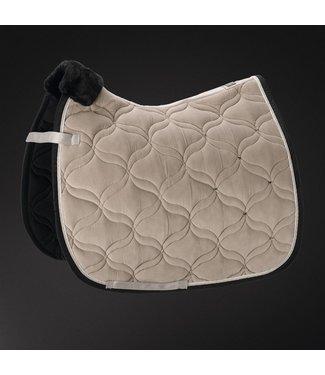 Pikeur Saddle Cloth Platinum VELVET CRYSTAL -limited edition