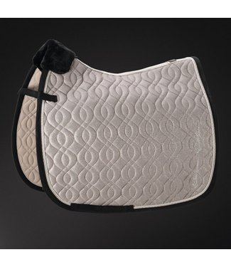 Eskadron Saddle Cloth Platinum MESH GLITTER -limited edition-