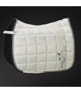 Eskadron Saddle Cloth Platinum BIG SQUARE GLOSSY -limited edition-