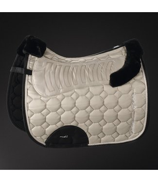 Eskadron Saddle Cloth Platinum FAUX FUR -limited edition-