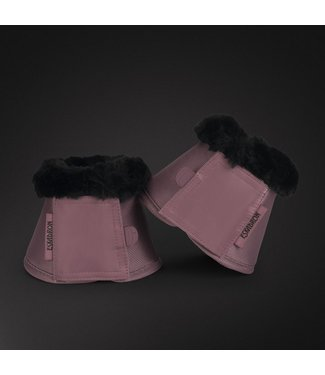 Eskadron Overreach Boots Platinum BELL BOOTS FAUX FUR -limited edition-