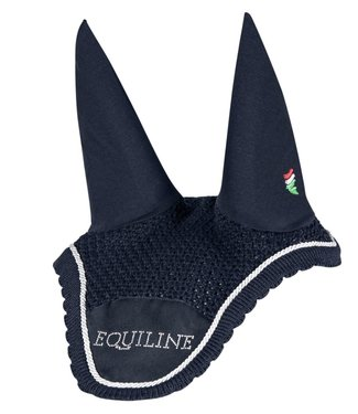 Equiline Horse Ear Net South Black