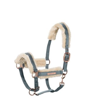 Eskadron Headcollar Double Pin Faux Fur (HERITAGE AW 18)